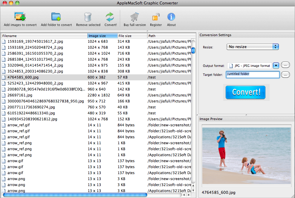 How to Convert a Group of Image Files to a New Format with Preview on Mac