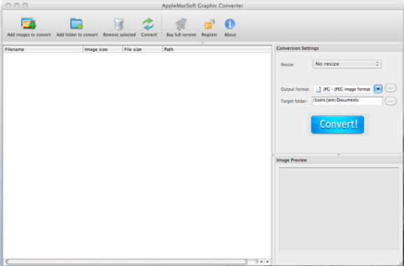 How to convert kdc to jpg png tiff on mac os x and windows launch the software ccuart Images