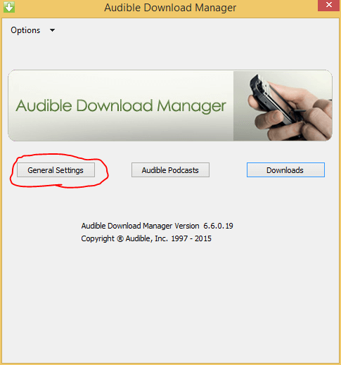 Convert Audible AudioBooks to MP3 for Android Devices on Windows