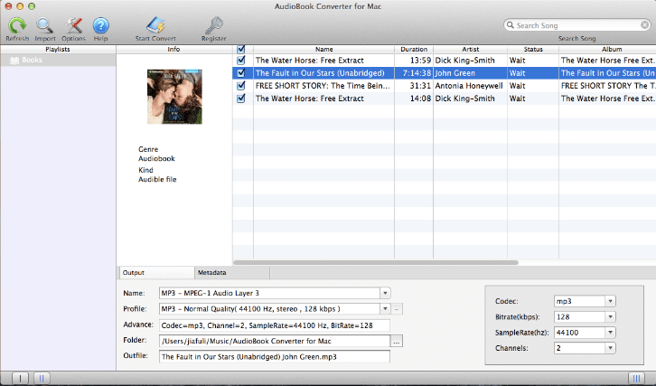 How to Convert Audible AA, AAX to MP3 on Mac?