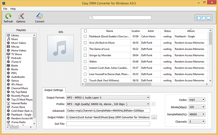 Easy Drm Converter Screenshot