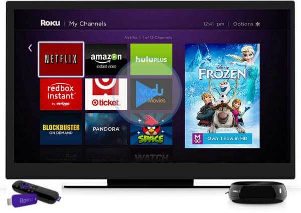 Play iTunes movies on Roku