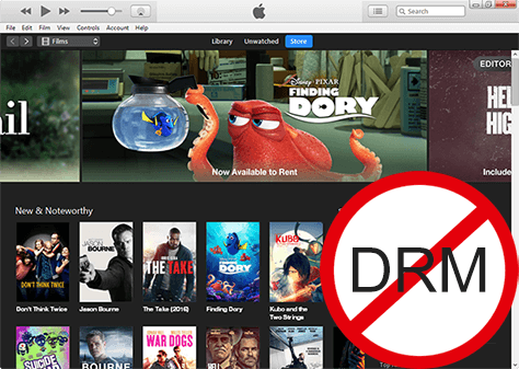 Part 1. Best iTunes DRM M4V Converter to Bypass DRM Protection Losslessly